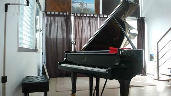 Doy clases de piano en Madrid.