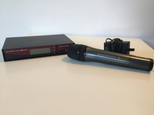 Sennheiser ew-100 G2 Mircrofono de mano + receptor