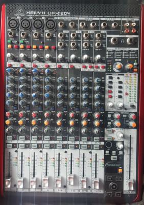 Behringer XENYX UFX1204 Mesa de mezclas de grabación con USB
