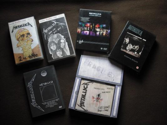 CD's, DVD's, rarezas, ediciones de coleccionista...