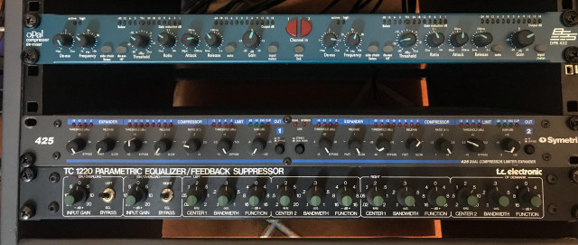 Previo instrumento/línea 2 canales + eq TC Electronic 1220