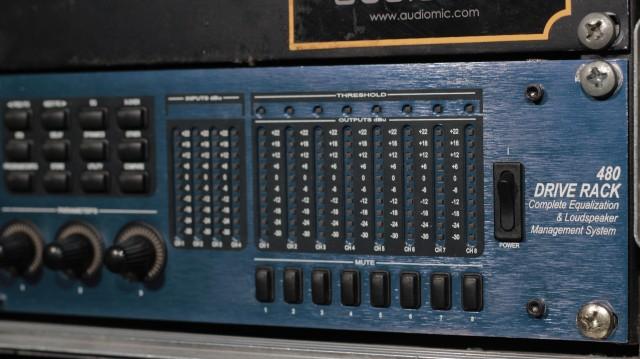 DBX 480 Drive Rack Complete Equalization & Loudspeaker Management