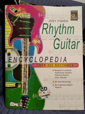 Libro Rhythm Guitar Encyclopedia de Jody Fisher