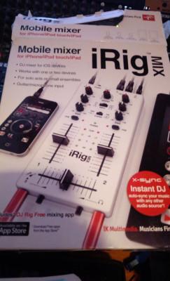 IRIG MIX tarjeta y controlador para pinchar con tablets y móviles.