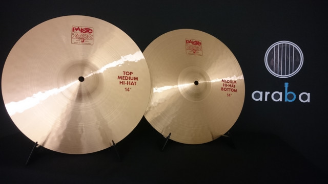"Par de platos Hit hat Charles 14"" Paiste Serie 2002 Medium"