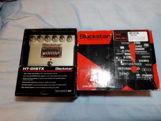 Pedal de distorsion guitarra Blackstar HT DISTX