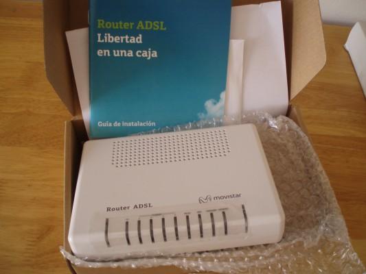 Routers inalambricos NUEVOS A ESTRENAR de Movistar