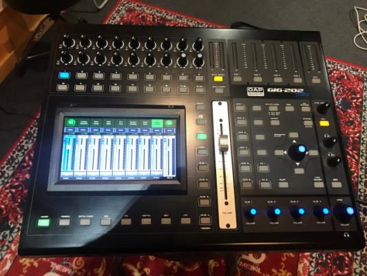 Mesa mezclas Digital Dap Audio GIG-202 Tab