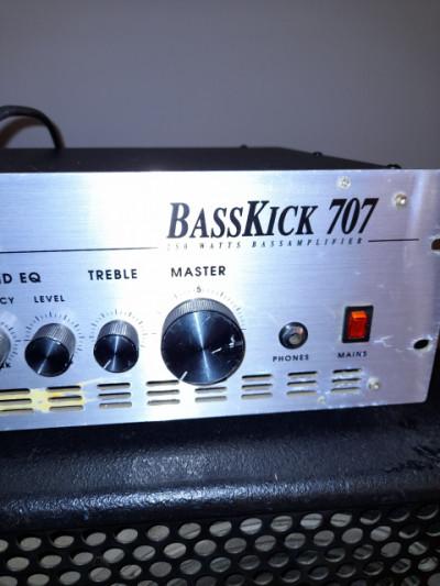 Amplificador de bajo electrico