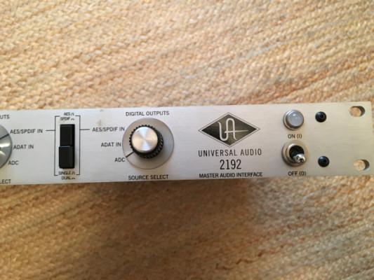 Universal Audio 2192 Master Audio Interface