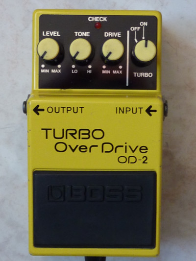 Pedal  Turbo Overdrive OD-2