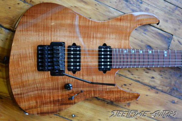 Suhr Modern Custom Curly KOA Top AAA - VENDIDA!