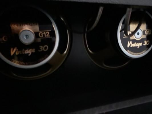"""2 Altavoces Celestion Vintage 30 12"""", 60W RMS, 8 Ohm, 100 db"""