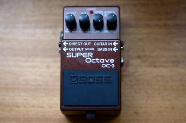 Boss OC-3 Super Octave CAMBIOS NO