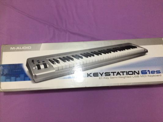 Teclado controlador M Audio Keystation 69es