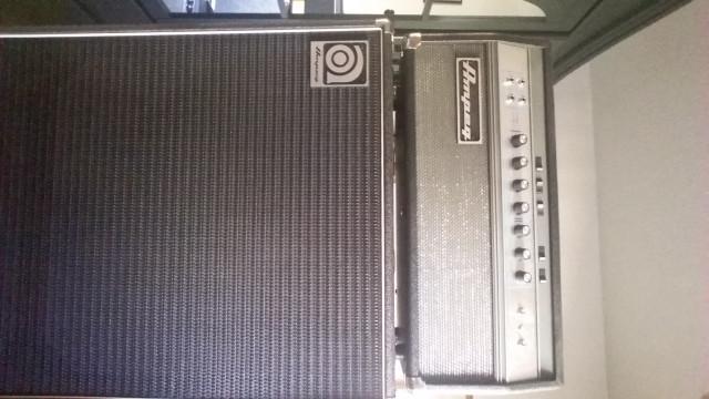 Amplificador de bajo Ampeg SVT VR reedición SVT Blue-line+SVT810E