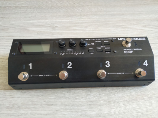 Boss MS3 Pedal Switcher Multiefect MS-3
