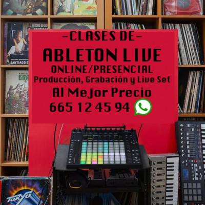 Ableton Live: clases online personalizadas de producción musical
