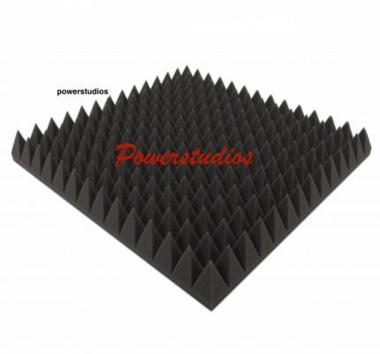 Promoción,paneles acústicos optimal pyramid, 24 paneles 49x49x7cm