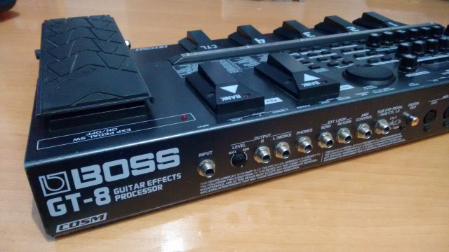 Boss GT 8 Pedalera Multiefectos