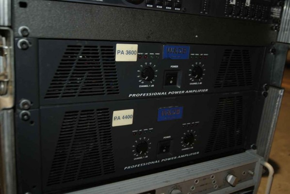 Etapas de potencia Peavey cs4000 y Audience delight