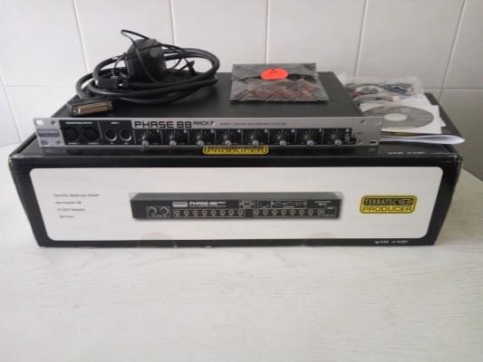 Interface de audio TERRATEC PHASE 88 RACK PCI