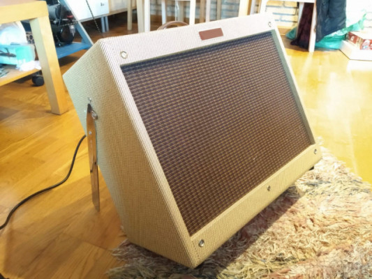 Combo Tweed Deluxe 5e3 handwired (kit boutique) + Celestion G12H