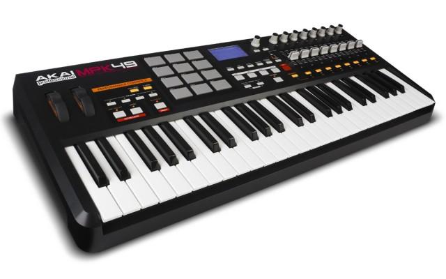 Akai MPK 49 ubs/midi Perfomance Keyboard