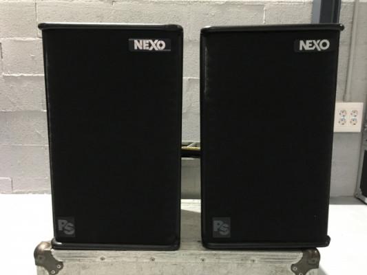NEXO PS10 + PROCESADOR + FLIGHCASE
