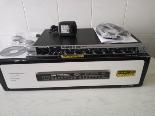 "Interface de audio TERRATEC PHASE 88 RACK FIREWIRE ""RESERVADO"""