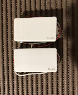 Set pastillas EMG 81 y EMG 85 en blanco