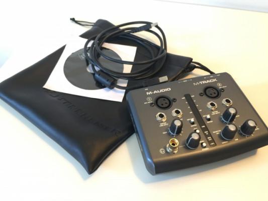 Interface M-Audio M-track NUEVA