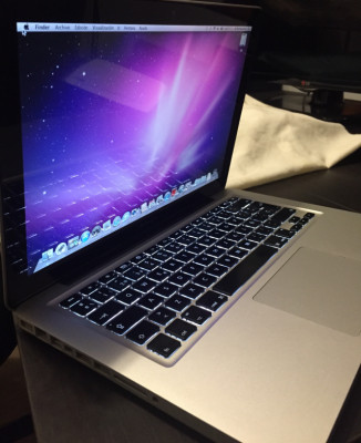 MacBook Pro 5.5 Intel Core 2 Duo.