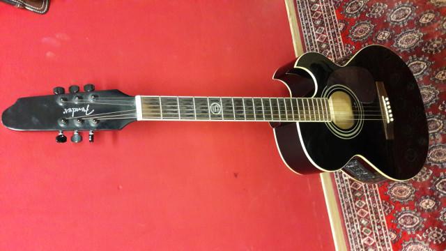Guitarra fender electro acústica J5