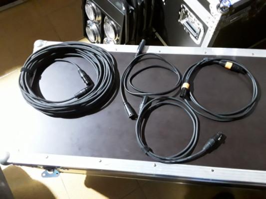 Lote de 25 cables DMX (Envío Incluido)