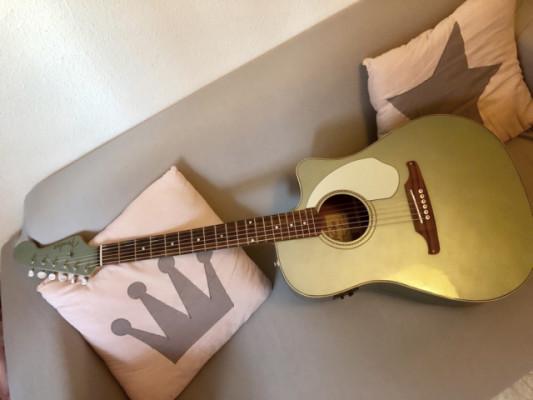 Vendo o cambio Fender Sonoran electroacustica