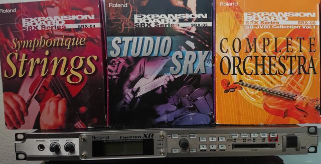 Roland Fantom RX + SRX-06, SRX-04, SRX-03