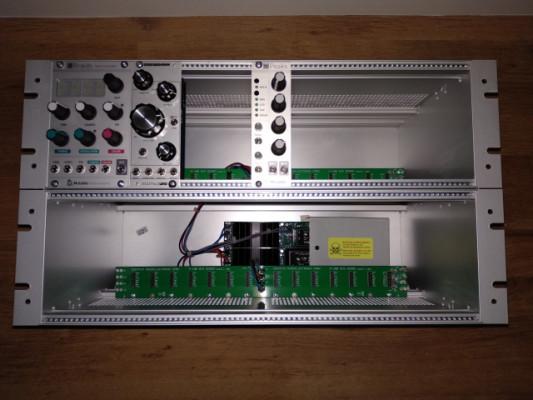 Case Doepfer 6HE PSU3+Mutable Instruments Braids 2015.