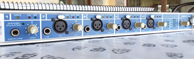 RME FIREFACE 800 interface audio