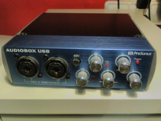 Interface de audio Presonus Audiobox USB 2x2