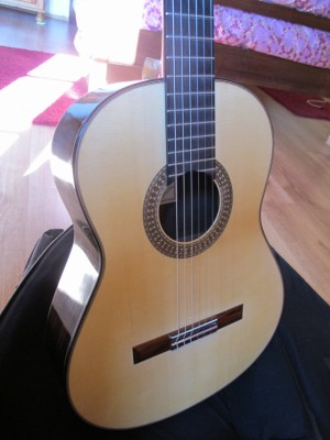 vendo o CAMBIO guitarra flamenca José González López , sobrino de Marín