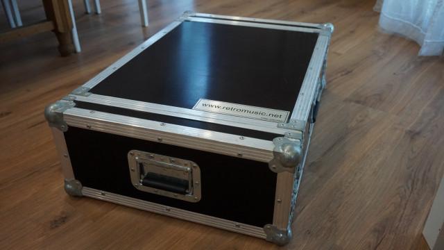 Flightcase formato rack 4U