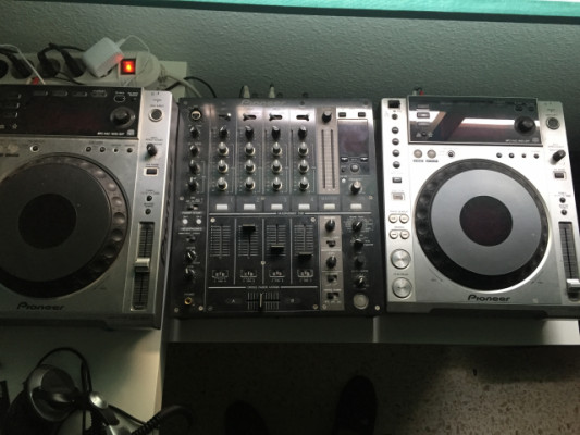 2 CDJ 850 + DJM 700
