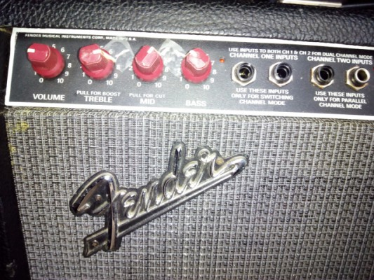 FENDER THE TWIN 100WTS THE RED KNOBS MADE IN USA