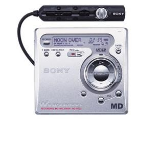 Mini Disc SONY MZ-R700
