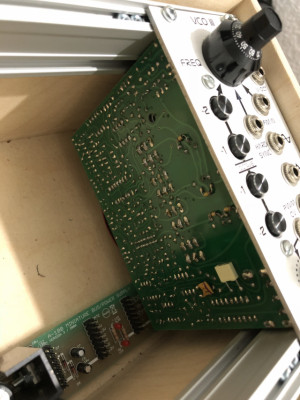 Befaco Eurorack VCO III + Doepfer minicase