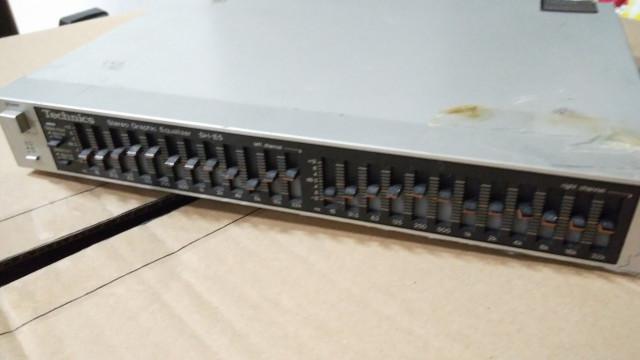 Ecualizador gráfico Technics SH-E5