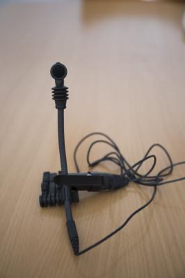 Micrófono Sennheiser E608 Metal/Madera