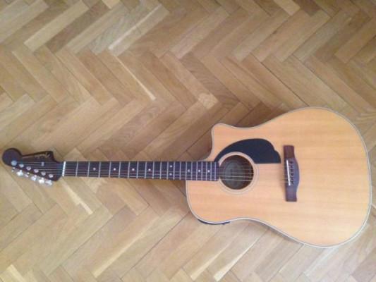 Guitarra acústica Fender
