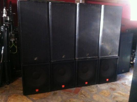 Equipo de sonido lm y jbl